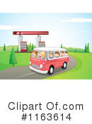 Royalty-Free (RF) Road Trip Clipart Illustration #1163614
