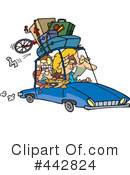 Royalty-Free (RF) Road Trip Clipart Illustration #442824