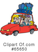 Road Trip Clipart #65650 by Dennis Holmes Designs