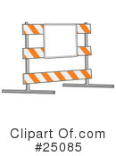 Royalty-Free (RF) Road Work Clipart Illustration #25085
