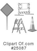 Road Work Clipart #25087