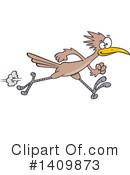Royalty-Free (RF) Roadrunner Clipart Illustration #1409873