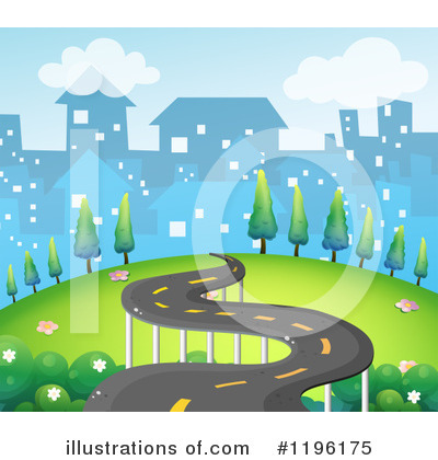 Road Clipart #1196175 by Graphics RF