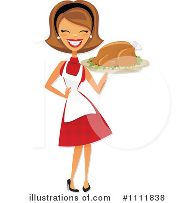Housewife Clipart #1111838 by Amanda Kate
