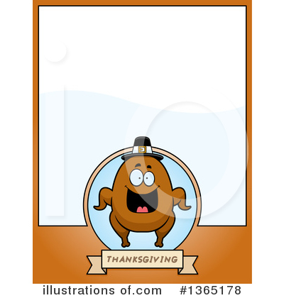 Royalty-Free (RF) Roasted Turkey Clipart Illustration by Cory Thoman - Stock Sample #1365178