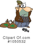 Robber Clipart #1050532 by toonaday