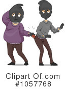 Robber Clipart #1057768 by BNP Design Studio