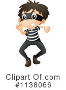 Royalty-Free (RF) Robber Clipart Illustration #1138066