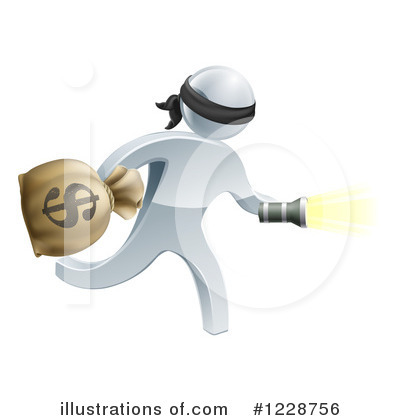 Robber Clipart #1228756 by AtStockIllustration