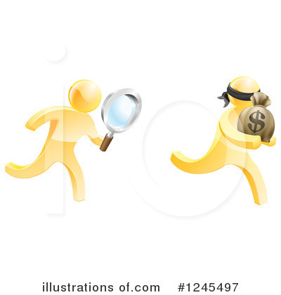 Robber Clipart #1245497 by AtStockIllustration
