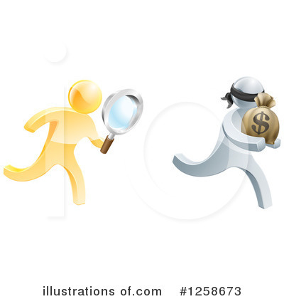 Robber Clipart #1258673 by AtStockIllustration