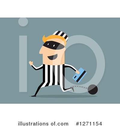 Royalty-Free (RF) Robber Clipart Illustration by Vector Tradition SM - Stock Sample #1271154