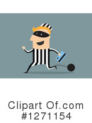 Royalty-Free (RF) Robber Clipart Illustration #1271154
