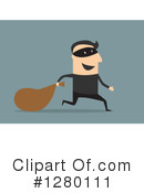 Royalty-Free (RF) Robber Clipart Illustration #1280111