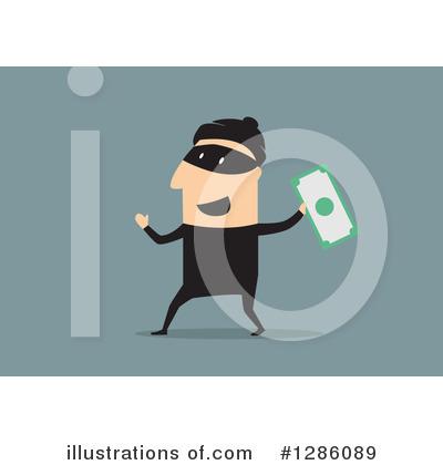 Robber Clipart #1286089 by Vector Tradition SM