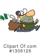 Robber Clipart #1306126 by toonaday