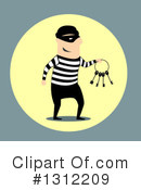 Royalty-Free (RF) Robber Clipart Illustration #1312209