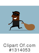 Royalty-Free (RF) Robber Clipart Illustration #1314053