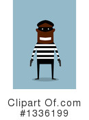Royalty-Free (RF) Robber Clipart Illustration #1336199