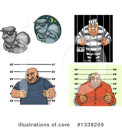 Mugshot Clipart #1338209 by Vector Tradition SM
