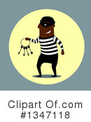 Royalty-Free (RF) Robber Clipart Illustration #1347118