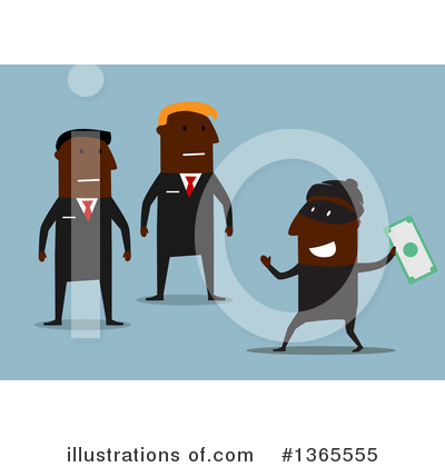 Robber Clipart #1365555 by Vector Tradition SM