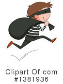 Royalty-Free (RF) Robber Clipart Illustration #1381936