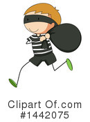Royalty-Free (RF) Robber Clipart Illustration #1442075