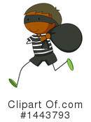 Royalty-Free (RF) Robber Clipart Illustration #1443793