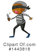 Royalty-Free (RF) Robber Clipart Illustration #1443818