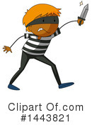 Royalty-Free (RF) Robber Clipart Illustration #1443821