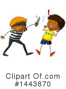 Royalty-Free (RF) Robber Clipart Illustration #1443870