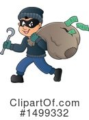Robber Clipart #1499332 by visekart