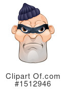 Robber Clipart #1512946
