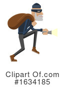 Robber Clipart #1634185 by AtStockIllustration