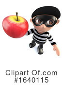 Robber Clipart #1640115 by Steve Young
