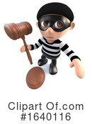 Robber Clipart #1640116 by Steve Young