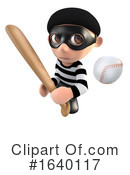 Robber Clipart #1640117 by Steve Young