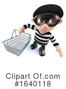 Robber Clipart #1640118 by Steve Young