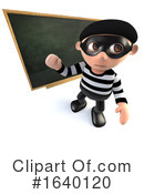 Robber Clipart #1640120 by Steve Young