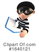 Robber Clipart #1640121 by Steve Young