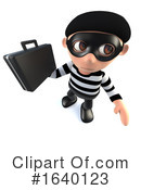 Robber Clipart #1640123 by Steve Young