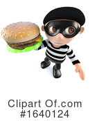 Robber Clipart #1640124 by Steve Young