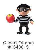 Robber Clipart #1643815 by Steve Young