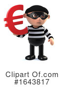 Robber Clipart #1643817 by Steve Young