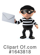 Robber Clipart #1643818 by Steve Young