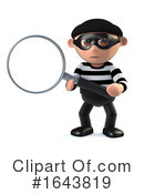 Robber Clipart #1643819 by Steve Young