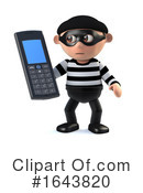 Robber Clipart #1643820 by Steve Young