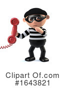 Robber Clipart #1643821 by Steve Young