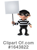 Robber Clipart #1643822 by Steve Young